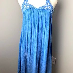 Altar'd State Small Blue Cover Up or Dress Strappy